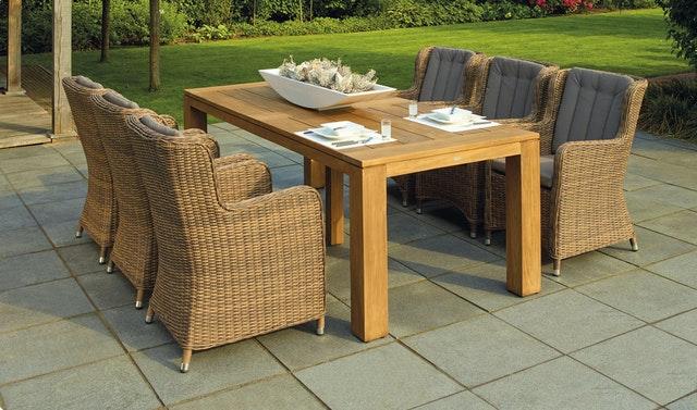 Jak wybrać stół do ogrodu?